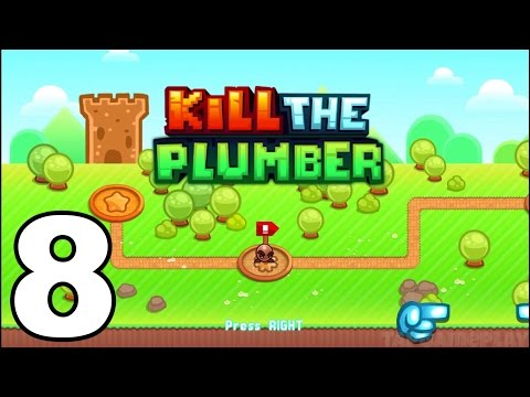 Kill the Plumber World - Gameplay Walkthrough Part 8 - World -: Levels 85-96 (iOS, Android)