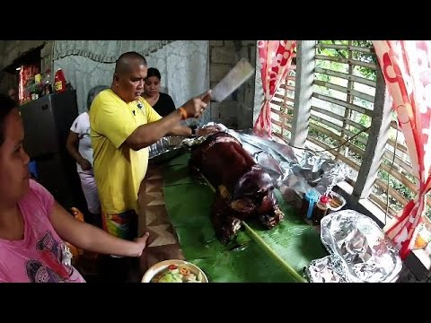 Lechon Dinner in the Province  - Philippines Expat