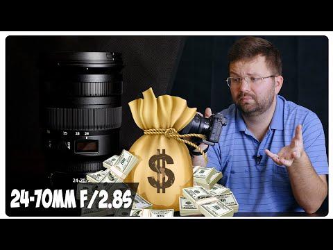 Nikon 24-70mm f/2.8S - ТВОЯ зарплата за ПОЛГОДА!