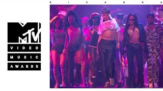 Rihanna - Rude Boy / What's My Name / Work Live From The 2016 MTV VMA's