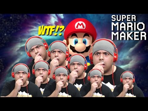 WHAT IN THE ACTUAL F#%K JUST HAPPENED!? [SUPER MARIO MAKER] [#82]