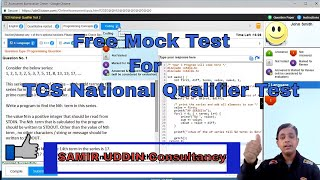 MOCK TEST TCS NINJA FULL DETAILED PATTERN | HOW TO PREPARE FOR TCS