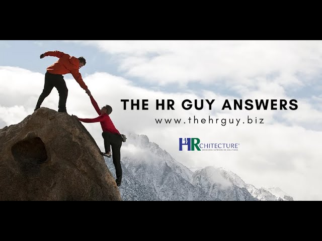 The HR Guy Answers: Teamwork Culture