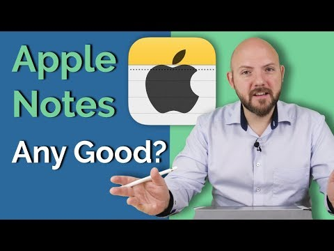 """Is Apple Notes an Underestimated Note-Taking App? + my """"reply"""" to Thomas Frank"""