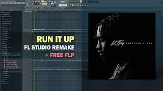 Lil Tjay - Run It Up ft. Offset, Moneybagg (Instrumental) + Free FLP Remake