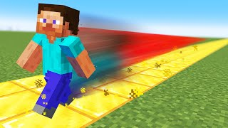 Minecraft but Everything I Touch turns to gold