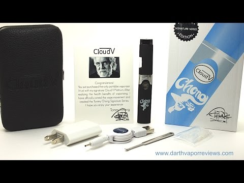 Cloud V: Platinum (Tommy Chong Signature Series) Vaporizer Unboxing