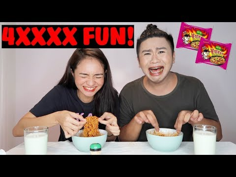 GOOD Vibes with ANGEL DEI!!! (Spicy Noodles Challenge w/ a TWIST)