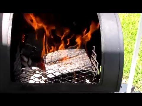 Brinkmann Trailmaster - Tutorial Series - How To Start a Fire on a BBQ Smoker