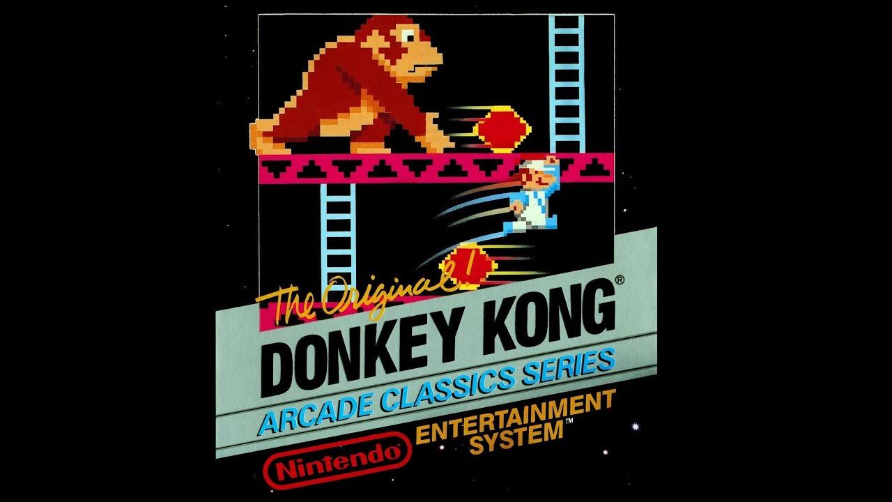 Donkey Kong (NES) Complete Walkthrough (Kind Of) - YouTube