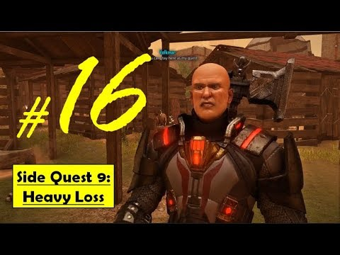 Elex - Heavy Loss | An Unlawful Owner, Retrieve Volkmar Sword