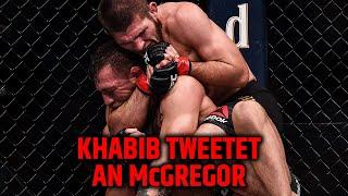 Khabib Nurmagomedov provoziert Conor McGregor auf Twitter!