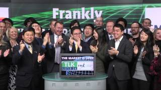 Frankly Inc. (TSXV:TLK) opens TSX Venture Exchange, January 29, 2014