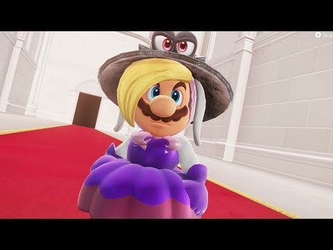 Hariet Costume Mario in Super Mario Odyssey - Final Boss & Ending