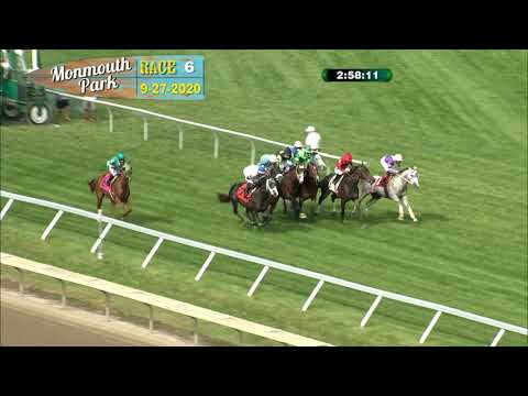 video thumbnail for MONMOUTH PARK 09-27-20 RACE 6