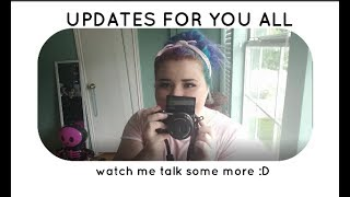 **UPDATES** || NEW CAMERA AND VLOGGING? MAYBE?