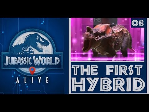How to create hybrid dinosaurs in Jurassic World Alive