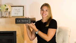 Le Tote - my first box!