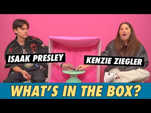 Kenzie Ziegler Vs. Isaak Presley - What's In The Box?
