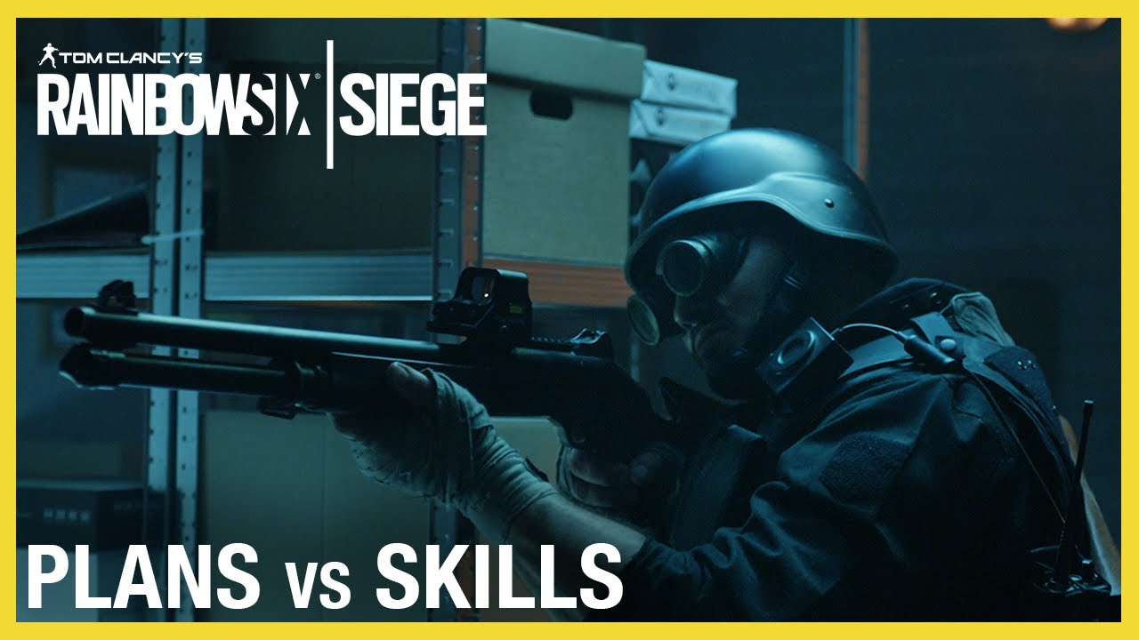 Rainbow Six Siege: Plans vs Skills Trailer | Ubisoft