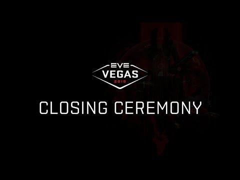 EVE Vegas 2018  Closing Ceremony