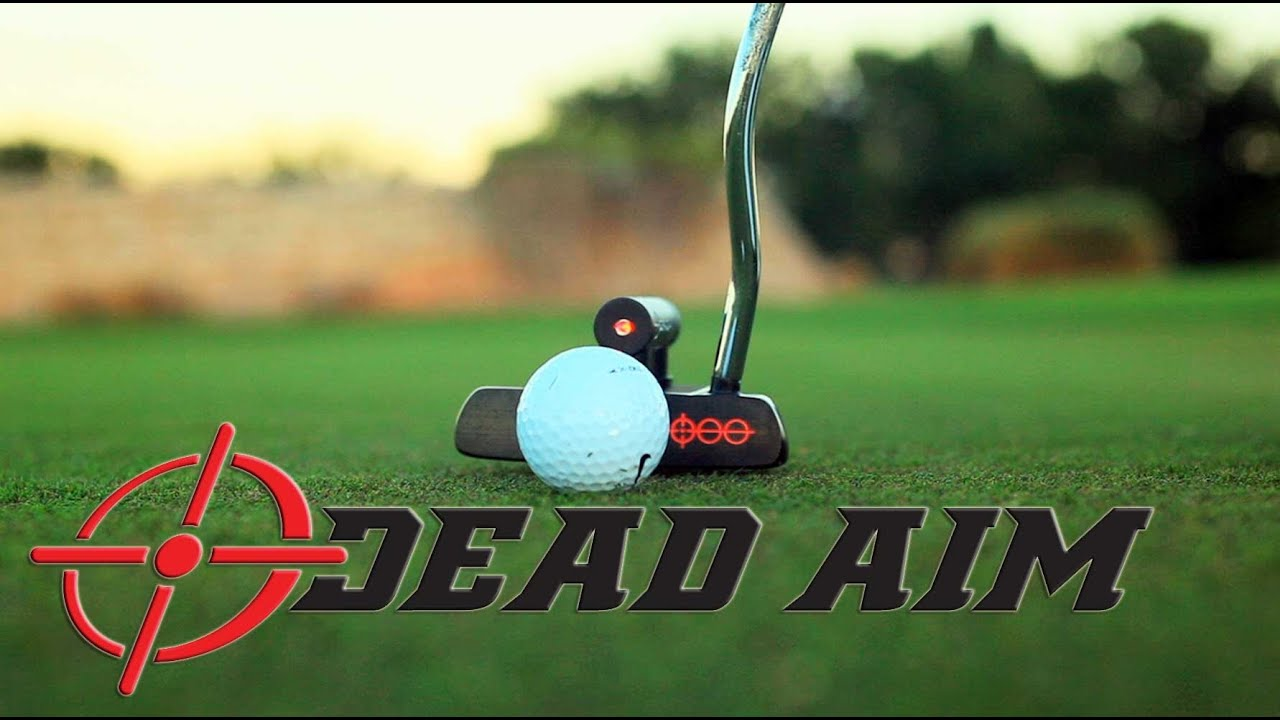 Improve Putting With The Laser Alignment System On A