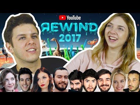 Gençlerin Tepkisi: YOUTUBE REWIND 2017 (ENES BATUR, KAFALAR, ORKUN IŞITMAK...)
