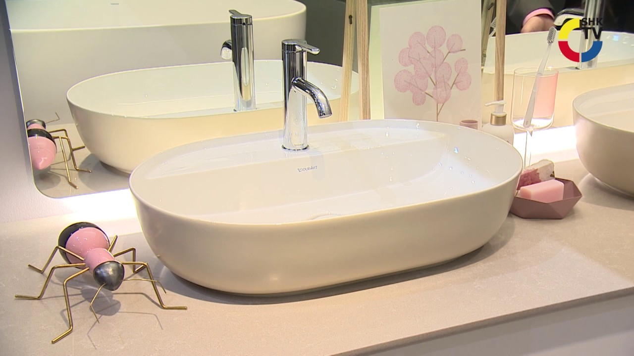 Duravit: Badmöbelserie Luv - YouTube