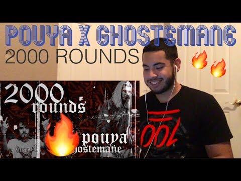 POUYA X GHOSTEMANE - 2000 ROUNDS   REACTION