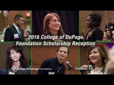 College of DuPage: 2016 Foundation Scholarship Reception