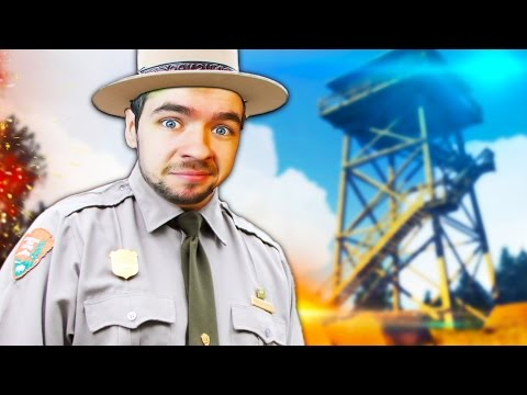 MAN GONE WILD | Firewatch #1
