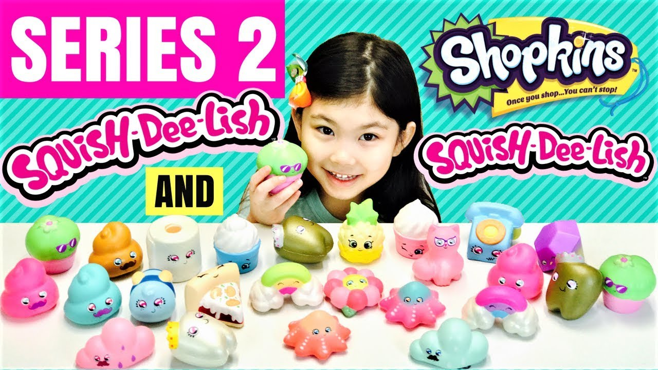 Squish Delish Wacky Series : New SERIES 2 Squish Dee Lish Full Box + Series 2 Shopkins Squish-Dee-Lish Slow Rise Squishies ...
