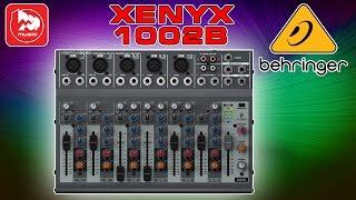 BEHRINGER XENYX 1002B (питание от батарей)