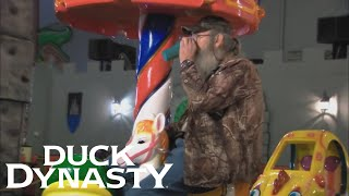 Duck Dynasty: Si Has a Blast at an Arcade (Flashback) | Duck Dynasty