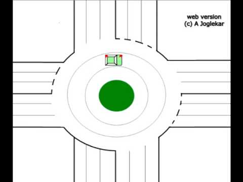 How to deal with roundabouts: Driver training for Indians