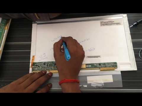 laptop white/blank (screen) display chip level repairing step by step .hp/dell/sony/lenovo/samsung