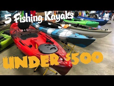 5 Fishing Kayaks