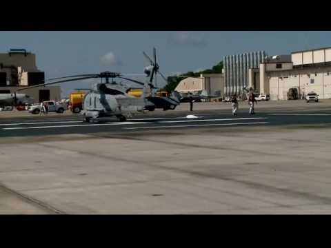 Barracks at NAS Jacksonville evacuated
