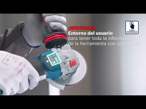 Nueva generación Bosch de amoladoras angulares a batería de 18V