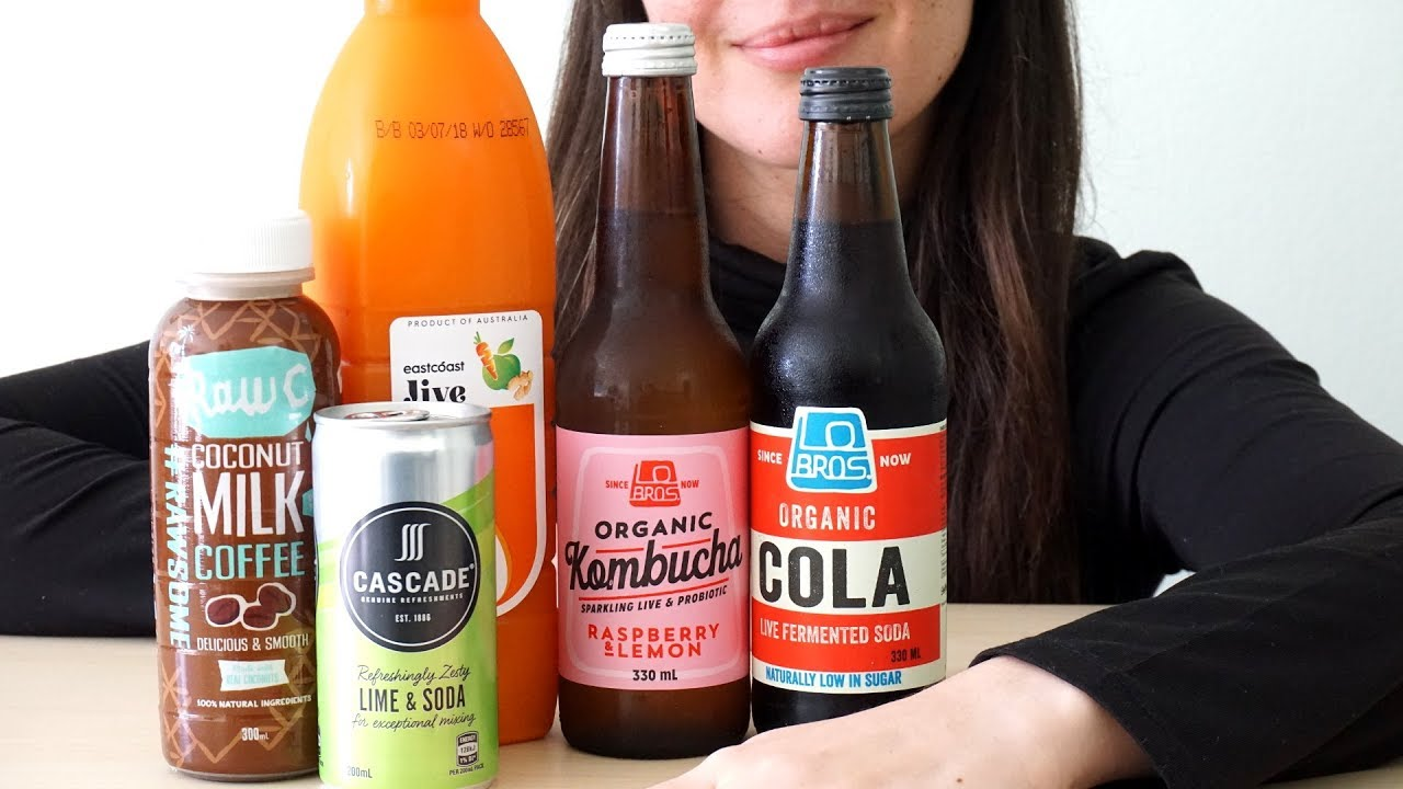 ASMR Drinking Sounds: Assorted Beverages (Mostly No Talking)
