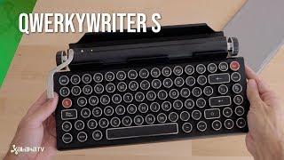 Qwerkywriter S, un TECLADO MECÁNICO (máquina de escribir) de Resident  Evil 2