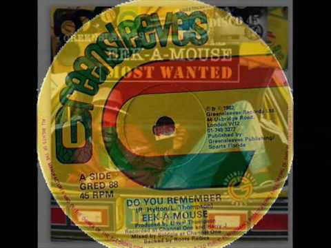 """Eek A Mouse 12"""" Do You Remember Ext. Play Gred 88 Reggae Dubwise Selecta"""