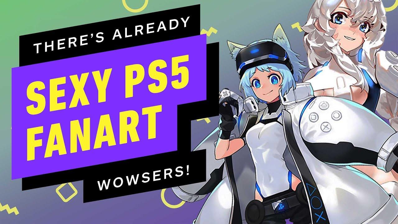 There S Sexy Ps5 Dualsense Anime Fanart Already Youtube