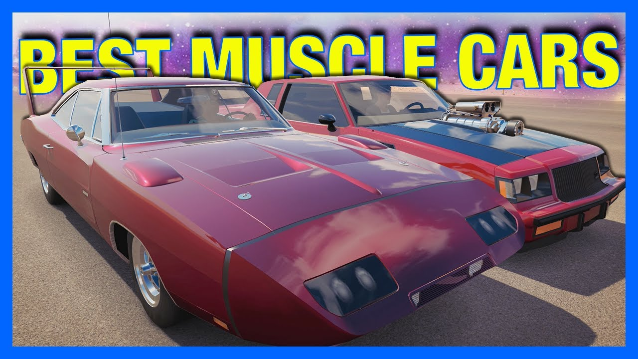 Forza Horizon 3 Online : BEST MUSCLE CARS!! - YouTube