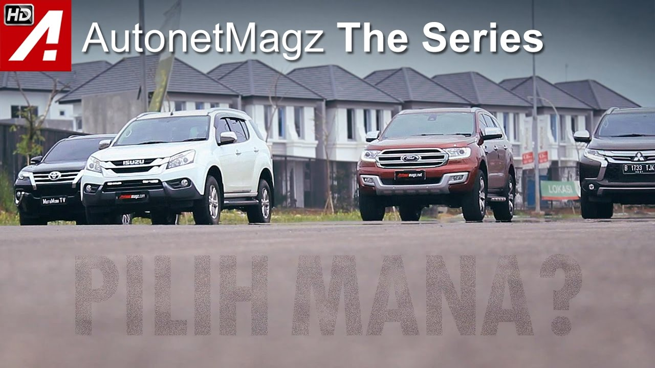 Diesel suv comparison part 2 fortuner vs pajero sport vs everest vs mu x