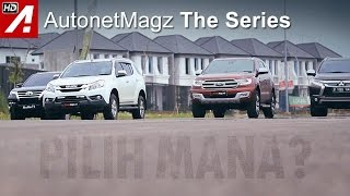 Komparasi SUV Diesel Part 2: Fortuner vs Pajero Sport vs Everest vs MU-X