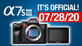 SONY A7SIII ANNOUNCEMENT  CONFIRMED!