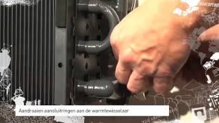 Design radiator strada installatie