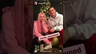 Илья Белов и его девушка истории Инстаграмм