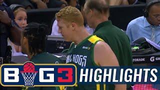 Ball Hogs vs Tri-State | BIG3 HIGHLIGHTS thumbnail